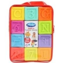 Навчальні кубики Playgro 10 штук, 0185196