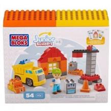 """Mega Bloks Набір конструктора серії """"Юні будівельники"""" 54 ел., 07152"""