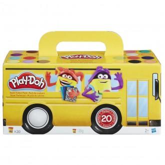 Набір пластиліну Play-Doh, 20 банок, A7924