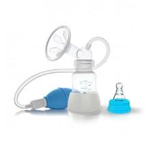 Ручний молоковідсмоктувач з системою відтоку повітря, BabyOno, 048
