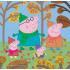 """Набір пазлів Trefl 3в1 """"Прогулянка Свинки Пеппи"""", 20 + 36 + 50 деталей, 34057"""