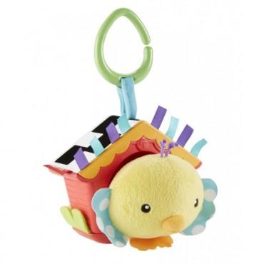 """Мягкая игрушка-подвеска """"Птенец в скворечнике"""", DFP95"""