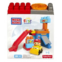 "Конструктор Mega Bloks ""Гараж"" серии First Builders, DKX85"