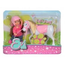 Кукольный набор Еви и пони Steffi and Evi Love, 5737464
