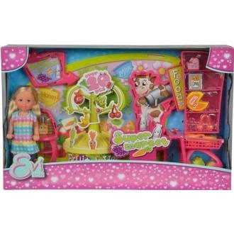 Лялька Еві в в супермаркеті, 12 см, 5737458