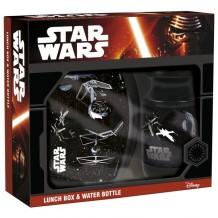Комплект: ланчбокс + бидончик Звёздные войны, ZSBSW14