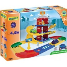 WADER Гараж 3 рівні Kid Cars 3D, 53040