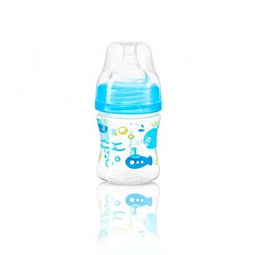 Антіколіковая пляшечка з широким горлом, 120 мл, 402
