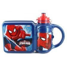 "Комплект: ланчбокс + бидончик ""Spiderman"", SO52472"