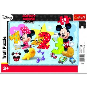 Пазл Baby Mickey Mouse Trefl, 31131