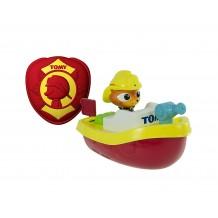 """Игрушка для ванной """"Пожарный катер с д/у"""", TOMY, E72425"""