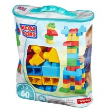 Mega Bloks сумка з конструктором Maxi Eco 60 дет., CYP67/DCH55