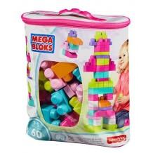 Mega Bloks сумка с конструктором Maxi Eco 60 дет., CYP67/DCH54