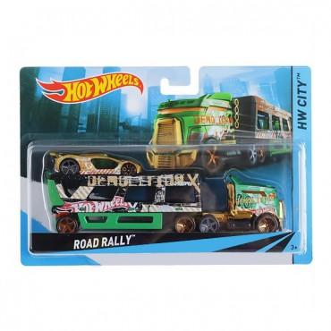 Машина дальнобійника Road Rally Hot Wheels, BDW51