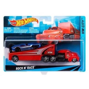 Машина дальнобойщика Rock N` Race Hot Wheels, BDW51