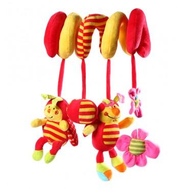 Мягкая игрушка-подвеска для кровати или детской коляски, 999