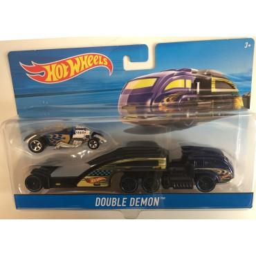 Машина дальнобойщика Double Demon Hot Wheels, BDW51