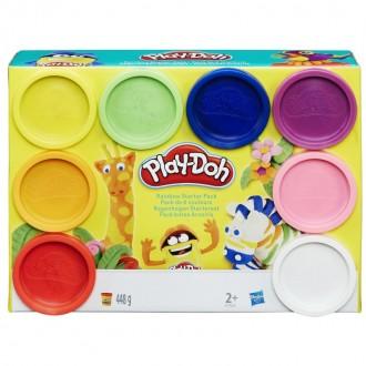 Набір Play-Doh 8 баночок 448г, A7923