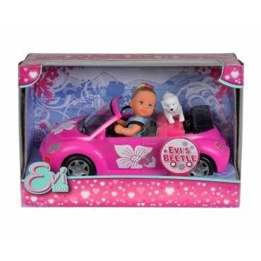 Лялька Еві в автомобілі, 12 см, 5731539