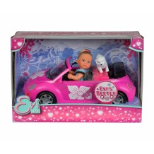 Кукла Эви в автомобиле, 12 см, 5731539