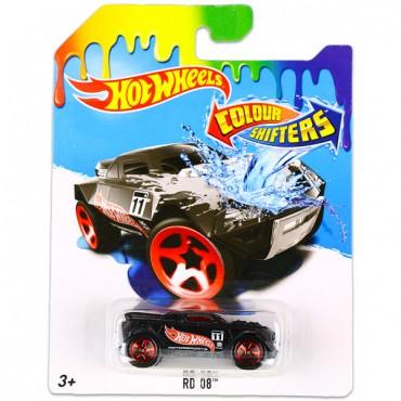 Машинка що змінює колір RD 08 Hot Wheels , BHR15