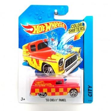 Машинка що змінює колір 55 CHEVY PANEL Hot Wheels , BHR15