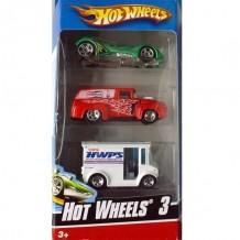 Машинки Подарунковий набір автомобілів (3 штук) Hot Wheels (K5904)