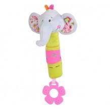 """Іграшка-пищалка з прорізувачем """"Розумний слоник"""", 1193"""