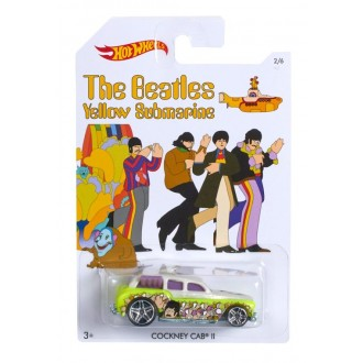 "Машинка Hot Wheels серії ""The Beatles"" Cockney Cab II, DML69/DML70"