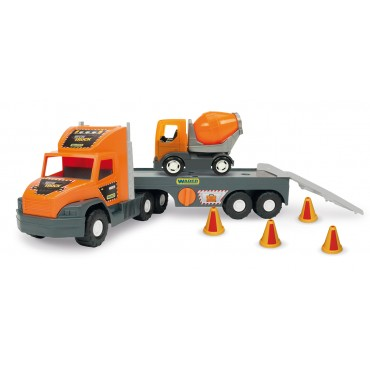 Wader Грузовик Super Tech Truck с бетономешалкой, 36750