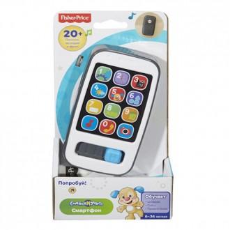 Розумний смартфон (укр.-англ.) Fisher Price, DLM34