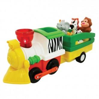 """Розвиваюча іграшка Kiddieland """"Паровоз Лімпопо"""", 052704"""