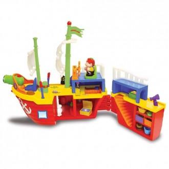 """Ігровий набір """"Піратський корабель"""", 038075"""