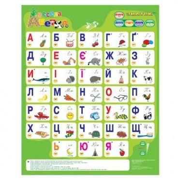 """Разговорная развивающая игрушка """"Веселая азбука""""(укр), REW-K008"""