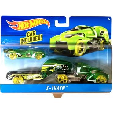Машина дальнобойщика X-Train Hot Wheels, BDW51
