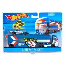 Машина дальнобійника Speedway Hauler Hot Wheels, BDW51