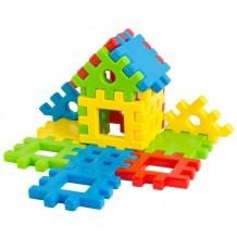 Іграшка конструктор Тигрес Поєднайко 16 елементів, 39197