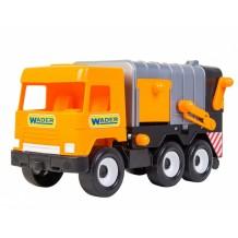 Машина Wader Middle truck Мусоровоз city, 39312