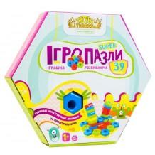 """Развивающая игрушка Тигрес """"Игропазлы Super"""" 39 эл., 39315"""