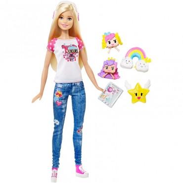 """Лялька Barbie """"Реальний світ"""" серії """"Героїня відеоігор"""", DTV96"""