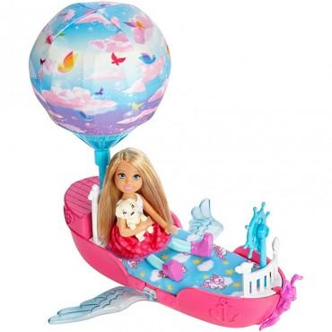 """Лялька Челсі та її магічний літаючий човник серії """"Дрімтопія"""", DWP59"""