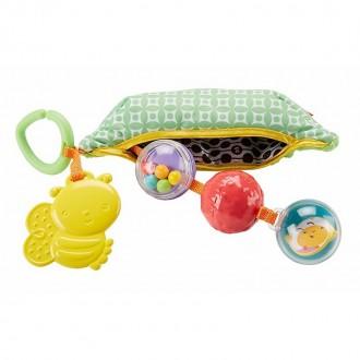 """Плюшева іграшка-брязкальце Fisher Price """"Горошок"""", DRD79"""