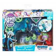 """Набір My little Pony """"Королева Кризаліс та Дракончик Спайк"""" серії """"Захисники Гармонії"""", B7298/B6009"""