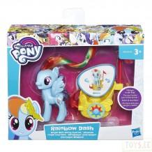 """Колісниця поні My little Pony """"Рейнбоу Деш"""", B9835/B9159"""