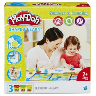 """Набір Play-Doh """"Моделюй та навчайся. Цифри та лічба"""", B3406"""