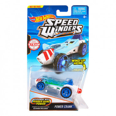 "Машинка Hot Wheels ""Турбо швидкість"" Power Crank, DPB70/DPB72"