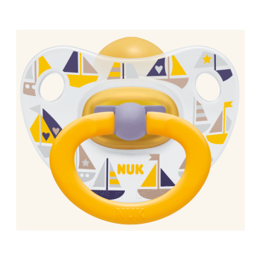 Соска-Пустушка NUK Happy Kids, 6-18 міс, 733607