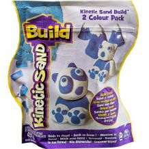 Набор для творчества Kinetic Sand голубой и белый 2х227 г, 71428WB