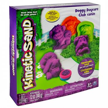 "Игровой набор для творчества Kinetic sand ""Doggy Daycare"" 340 г, 71415"