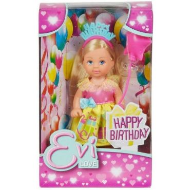 """Кукла Эви """"С днем рождения!"""", 12 см, 5733031"""